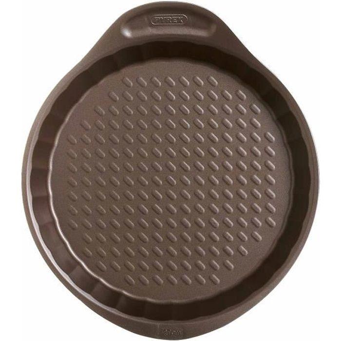 PYREX Moule à tarte Asimetria 30 cm marron
