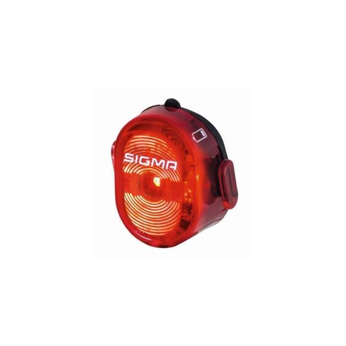 SIGMA - Phare Arrière Éclairage Vélo Nugget 2 Usb