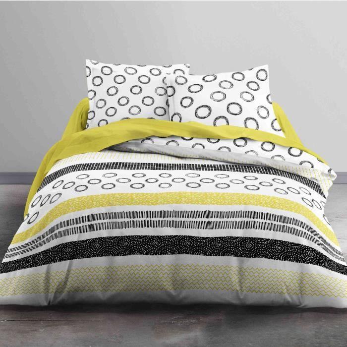 Parure de lit Today Sunshine Afrosia 100% coton - taille:240 x 260 cm