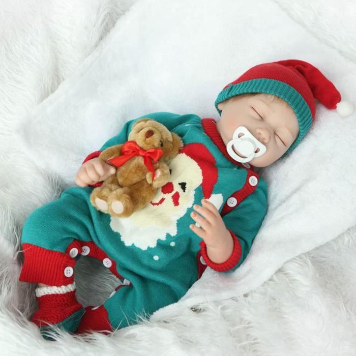 POUPÉE Lifelike Reborn Baby Doll 55 cm poupée nouveau-né