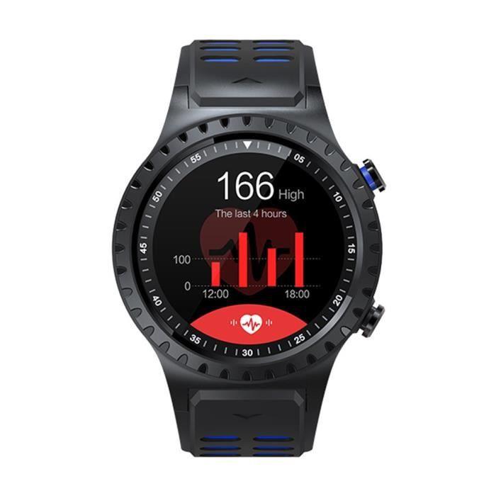 MONTRE CONNECTÉE Montre intelligente en cours d'exécution GPS appel