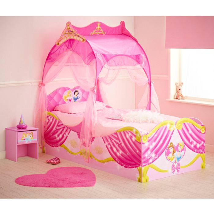 ensemble literie grand lit carrosse princesse disney - Lit De Princesse