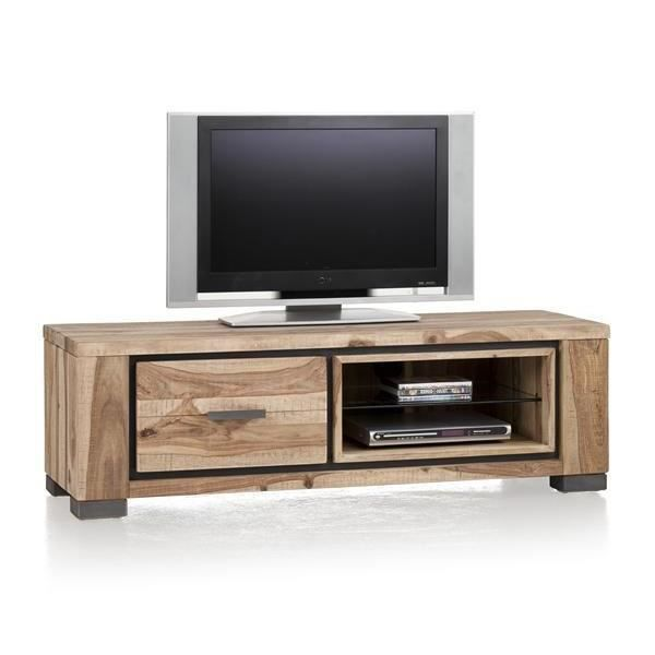 meuble tv 130 cm seesham massif priego h h achat vente. Black Bedroom Furniture Sets. Home Design Ideas