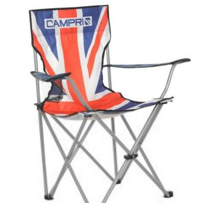 chaise pliante union jack prix pas cher cdiscount. Black Bedroom Furniture Sets. Home Design Ideas