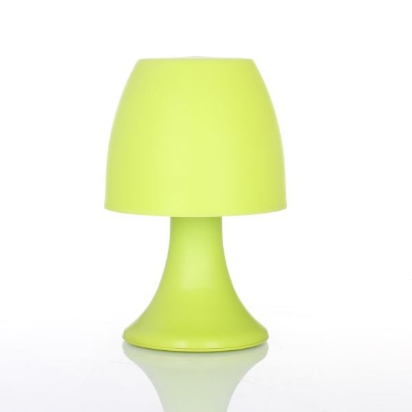 lampe champignon led coloris vert achat vente lampe champignon led colori plastique cdiscount. Black Bedroom Furniture Sets. Home Design Ideas