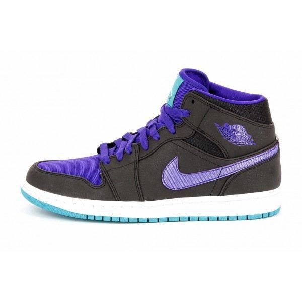 Air Jordan 1 Mid Chaussure Noir - Achat / Vente basket - Cdiscount