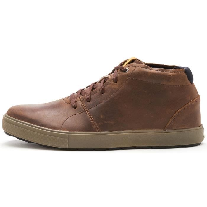 c8ee7b5abdf Merrell Barkley Chukka Full Grain Cuir Bottes en Brunette Marron J97079  UK  10 EU 44.5