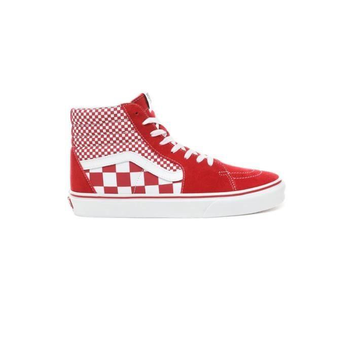 basket vans rouge
