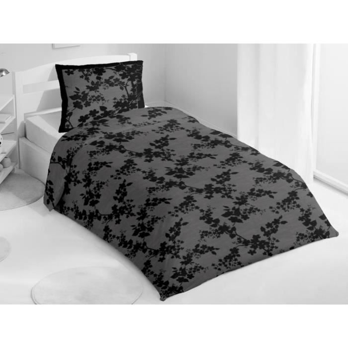 parure housse de couette coton 140x200 serykito achat. Black Bedroom Furniture Sets. Home Design Ideas