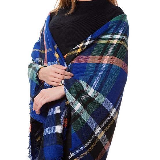 Femmes Hommes hiver echarpe châle tricot fin écharpe en Tricot Cachemire Part choix de couleur 2