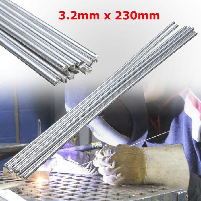 2 kg de soudure WIG /Ø 2,5 x 500 mm Barres de soudure en acier ER70S-G3