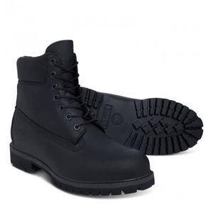 chaussure homme daim noir timberland