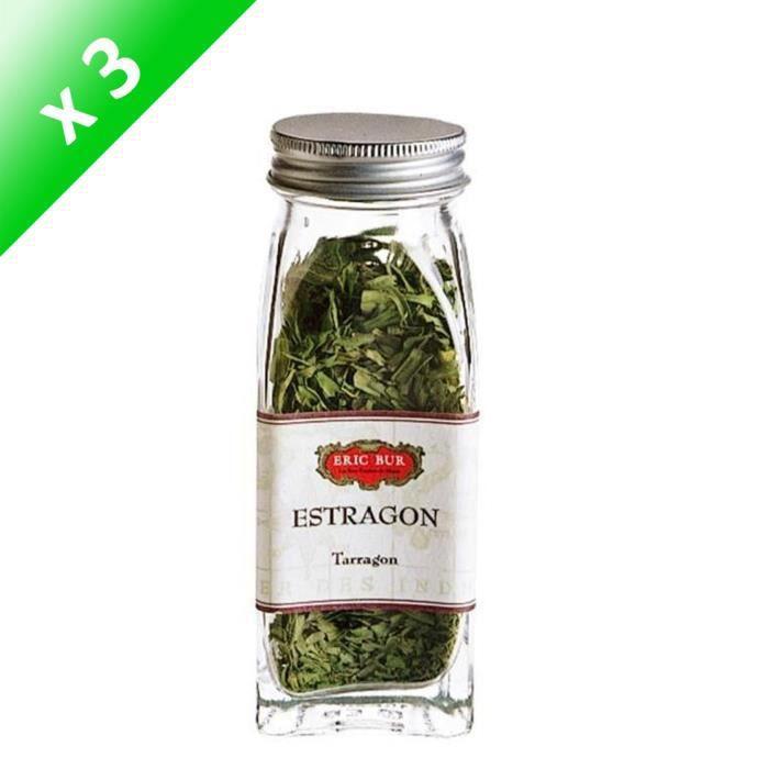 ERIC BUR Epices Estragon - 5g - Pack de 3
