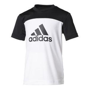 T-SHIRT ADIDAS Tee-Shirt YB  - Blanc