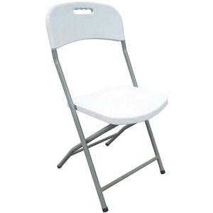 FAUTEUIL JARDIN  Lot de 2 chaises pliantes - Poudre enduits ossatur