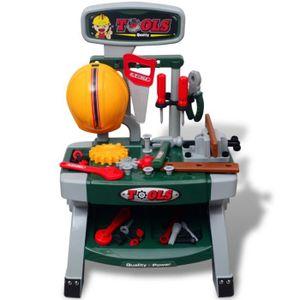 BRICOLAGE - ÉTABLI Magnifique Etabli-jouet avec outils pour enfants V