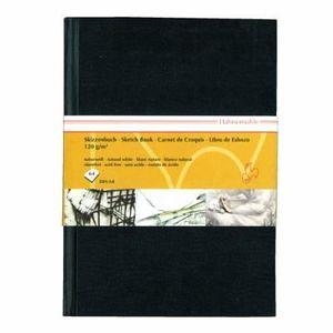 140g//m² Hahnemühle carnet de croquis DIN a5 d/&s noir 80 feuilles portrait