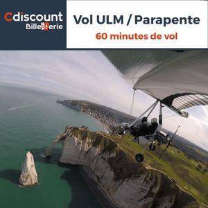 Loisirs Vol ULM / Parapente - 60 minutes - 27 lieux en Fra