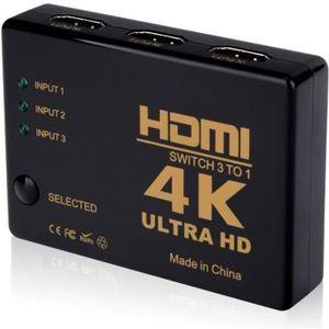 REPARTITEUR TV INECK® HDMI Switch ** 4K ** Full HD 1080P HDMI Spl