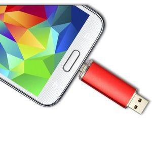 CLÉ USB ROUGE 64 Go CLE USB flash drive micro USB OTG 64 G