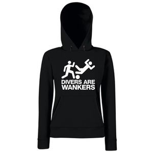 SWEATSHIRT Sweatshirt a capuche Femme WC0325 DIVERS ARE WANKE