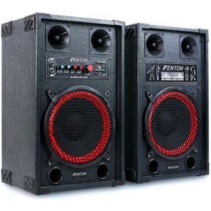 ENCEINTE ET RETOUR Skytec SPB-10 Pack Enceintes Amplifiées • 600W max