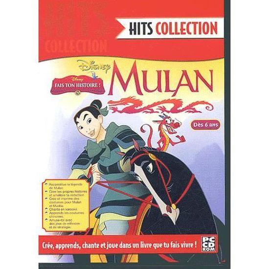 Mulan Disney Livre Anime Interactif