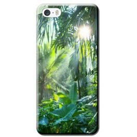 Coque Jungle iPhone 5/5S - Cdiscount Téléphonie