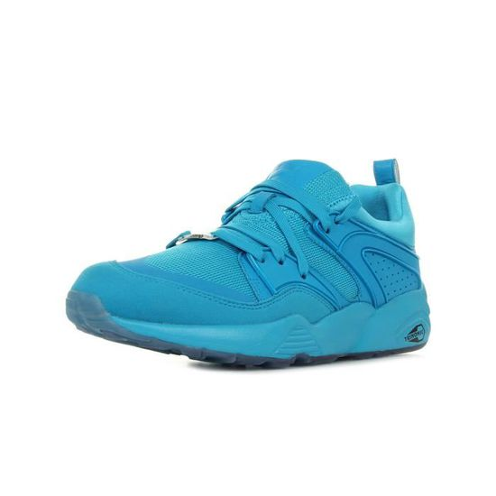 Baskets Puma Blaze of Glory Reflective Bleu Bleu - Achat / Vente basket