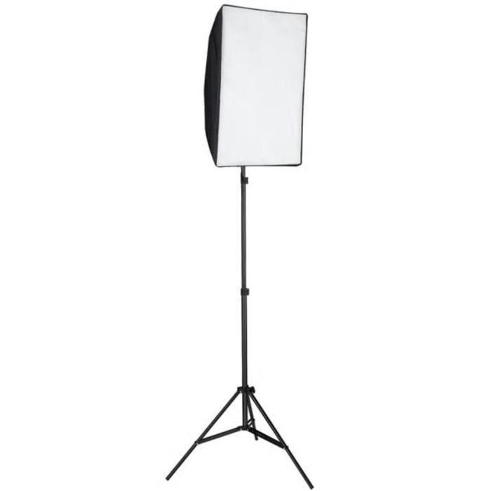 LHE Lampe de photo studio avec diffuseur softbox 60 x 40 cm Lampes studio et flashs