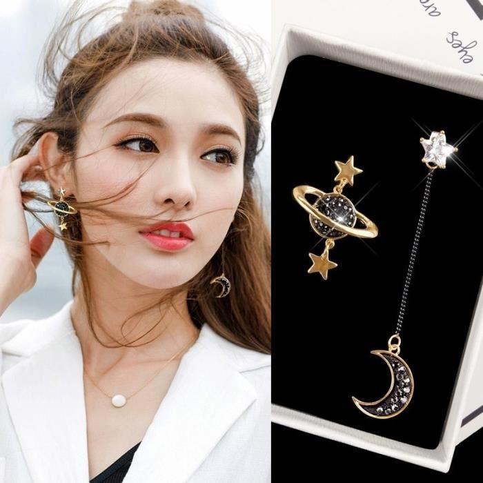 Earring E675 -8CM Long gland oreille ligne fil enfileur boucles d'oreilles pour femmes minimaliste or fil barres Rolo chaîne bouc
