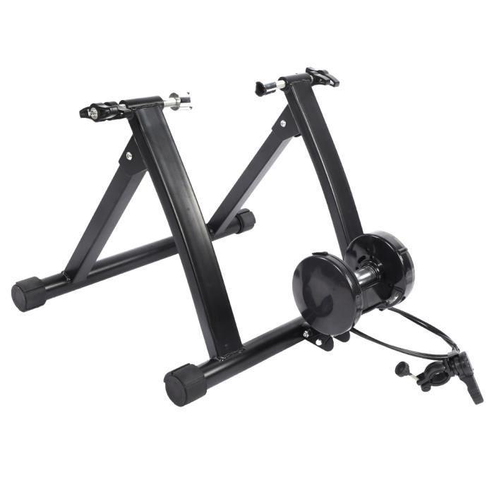 Tbest Machine d'exercice de Vélo Vélo d'appartement Magnétique Entraîneur de Vélo d'exercice d'intérieur de Vélo