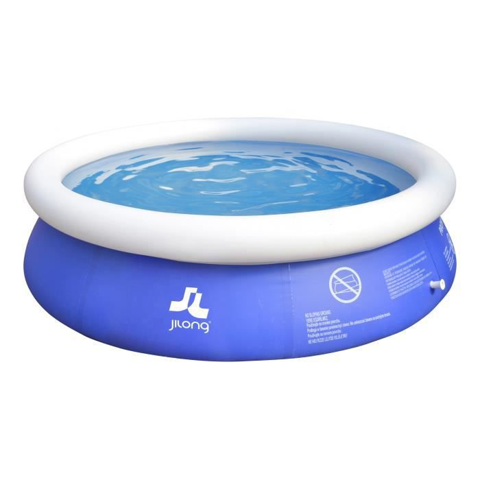 INTEX 0775269 Easy Set Piscine Gonflable PVC Bleu 38,1 x 29,8 x 38,7 cm