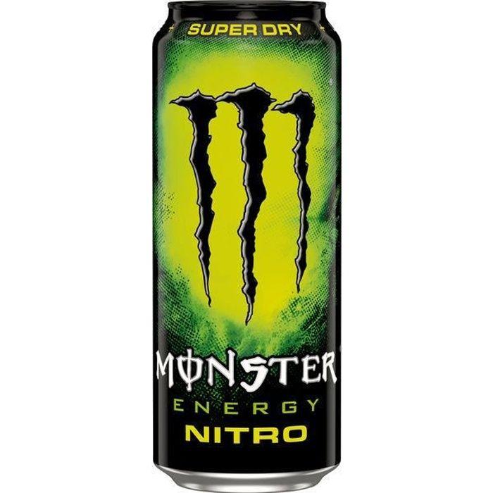 Monster Energy Nitro Super Dry Energy Drink 0,5l