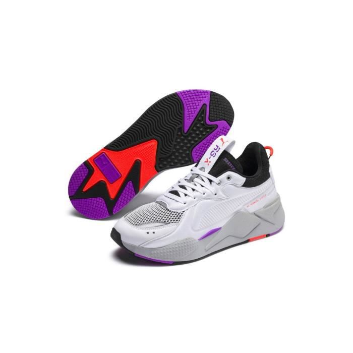 Baskets Puma RS-X Soft Case Blanche Grise