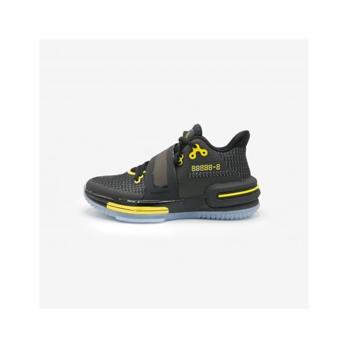 Chaussures de basketball Peak Flash 2 - noir/jaune - 41