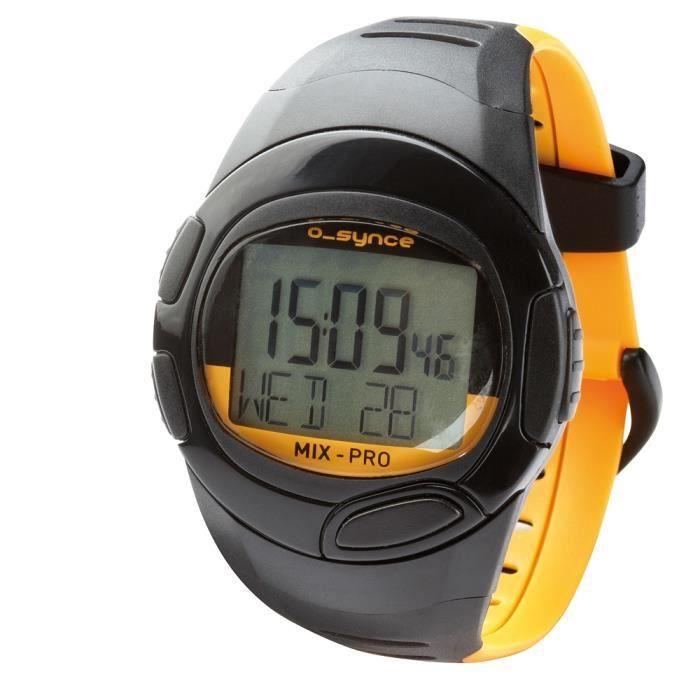 o-synce Mix Pro, Noir, Orange, Résistant à l'eau, 30 m, Fourmi, Course, 24h
