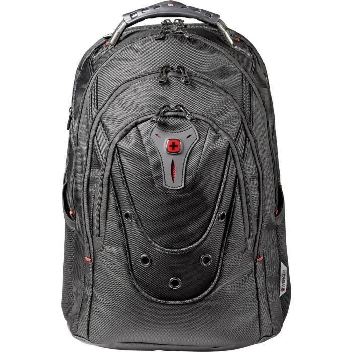 Sac à dos pour ordinateur portable Wenger Ibex Black Ballistic, 125th Anniversary Au maximum: 43,9 cm (17,3-) noir