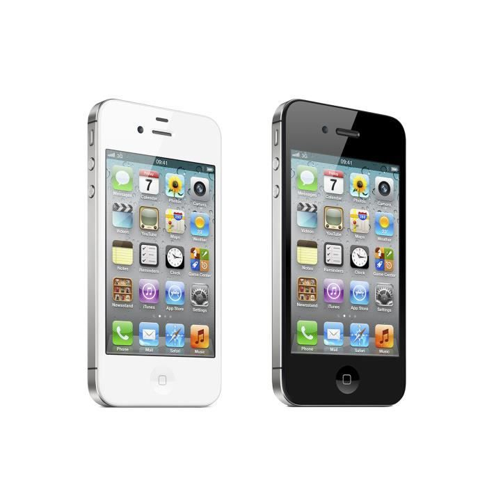 iphone 4s noir 16go achat smartphone pas cher avis et. Black Bedroom Furniture Sets. Home Design Ideas