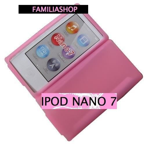 housse etui coque silicone rose ipod nano 7g achat. Black Bedroom Furniture Sets. Home Design Ideas