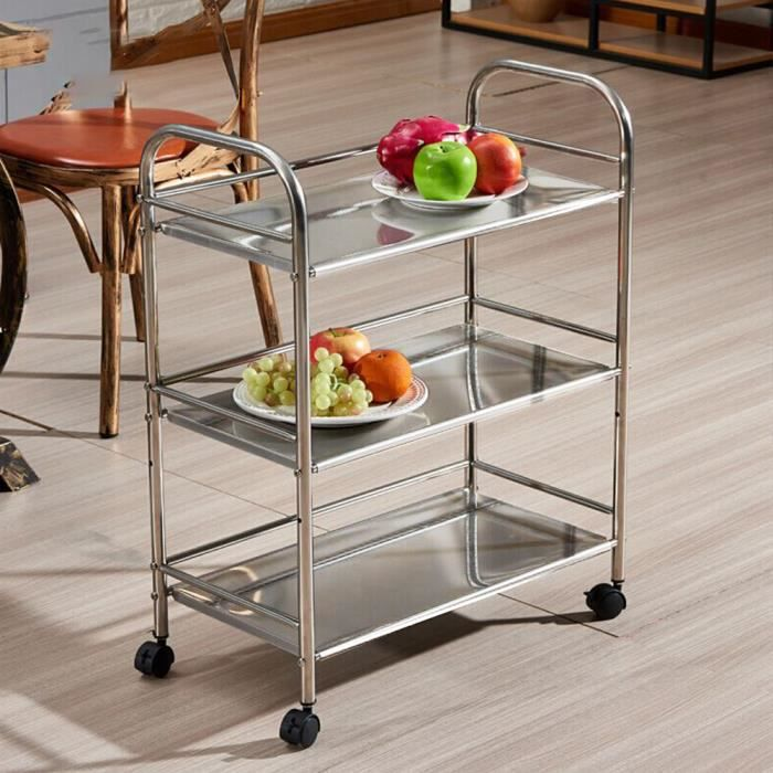 DESSERTE - BILLOT Chariot de Service & Desserte à roulettes & Roulan