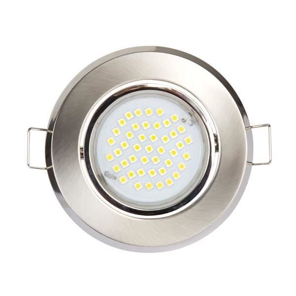Spot led encastrable blanc chaud 3200k 12v achat for Spot exterieur led encastrable