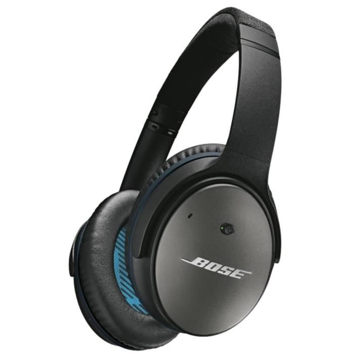bose quietcomfort qc 25 noir casque couteur audio. Black Bedroom Furniture Sets. Home Design Ideas