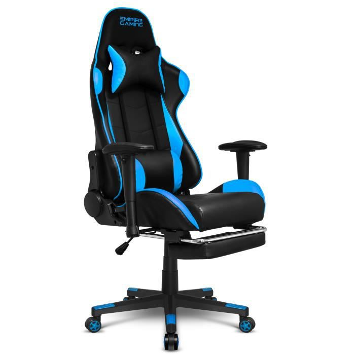 – Gaming Racing800seriesnoirbleu Empire Gamer Fauteuil 1clFJK