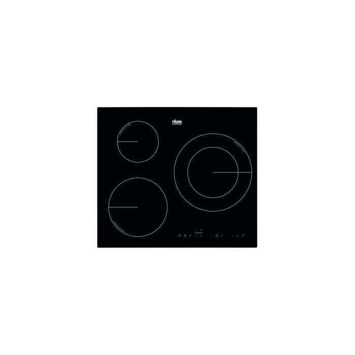 PLAQUE INDUCTION Table:Induction - Largeur (mm):590 - 3 foyers - Ba