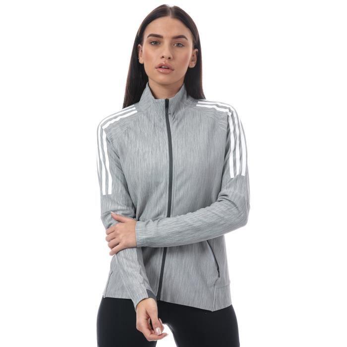 veste adidas femme grise