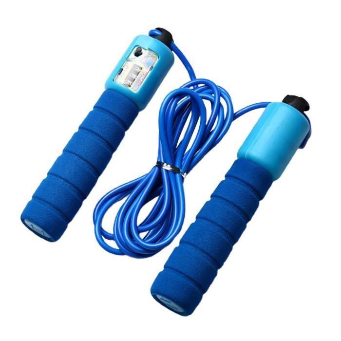 Plastique Corde à sauter avec compteur vitesse Saut Exercice Corde Fitness Boxe Corde