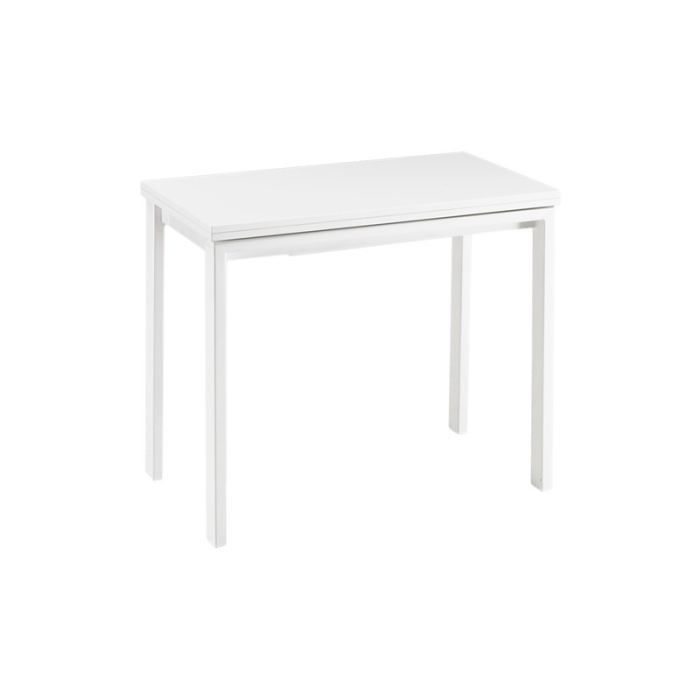 Table console extensible rallonge int gr e spac achat vente table mang - Cdiscount console extensible ...