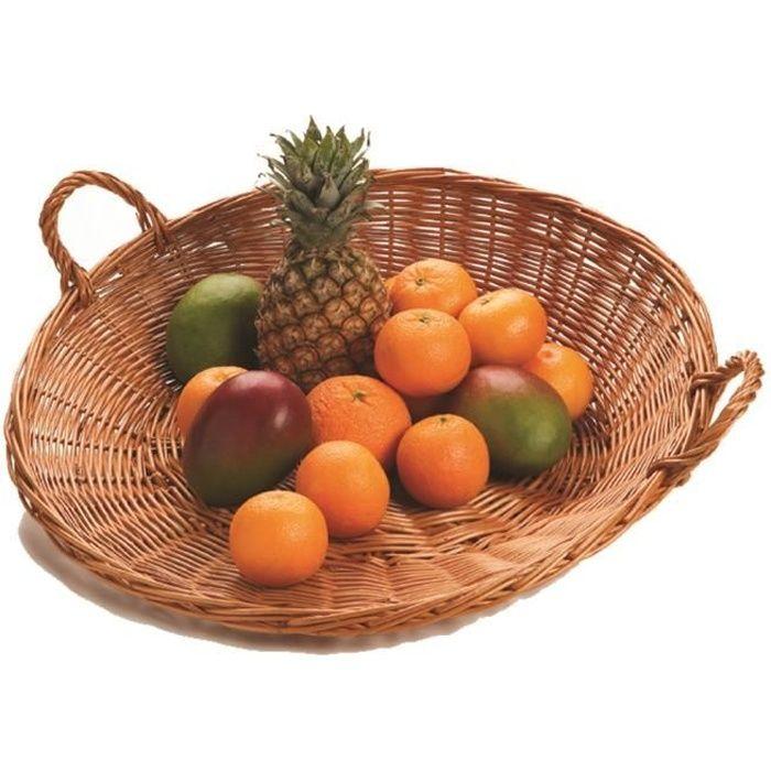 Argent H 45 cm Corbeille /à fruits Double
