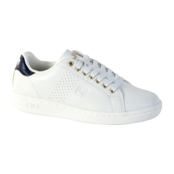 Basket Fila Crosscourt 2F Low WMN White 38 Blanc ag76SdT6oe
